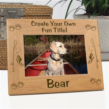 Create your own fishing picture frame for Create your own fish