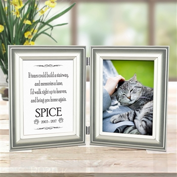 Memorial Picture Frame For Cat Lovers