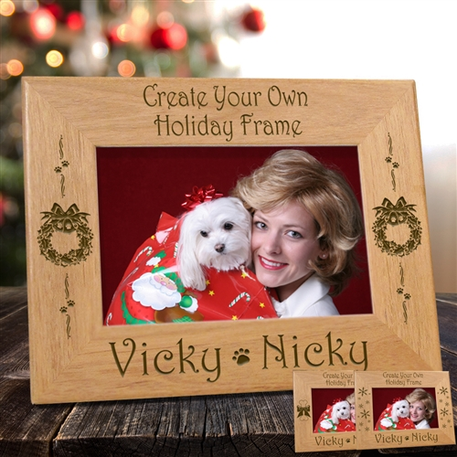 Create Your Own Holiday Dog Frame